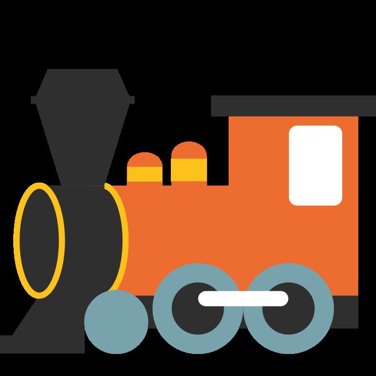 768x768 Steam Train Vector
