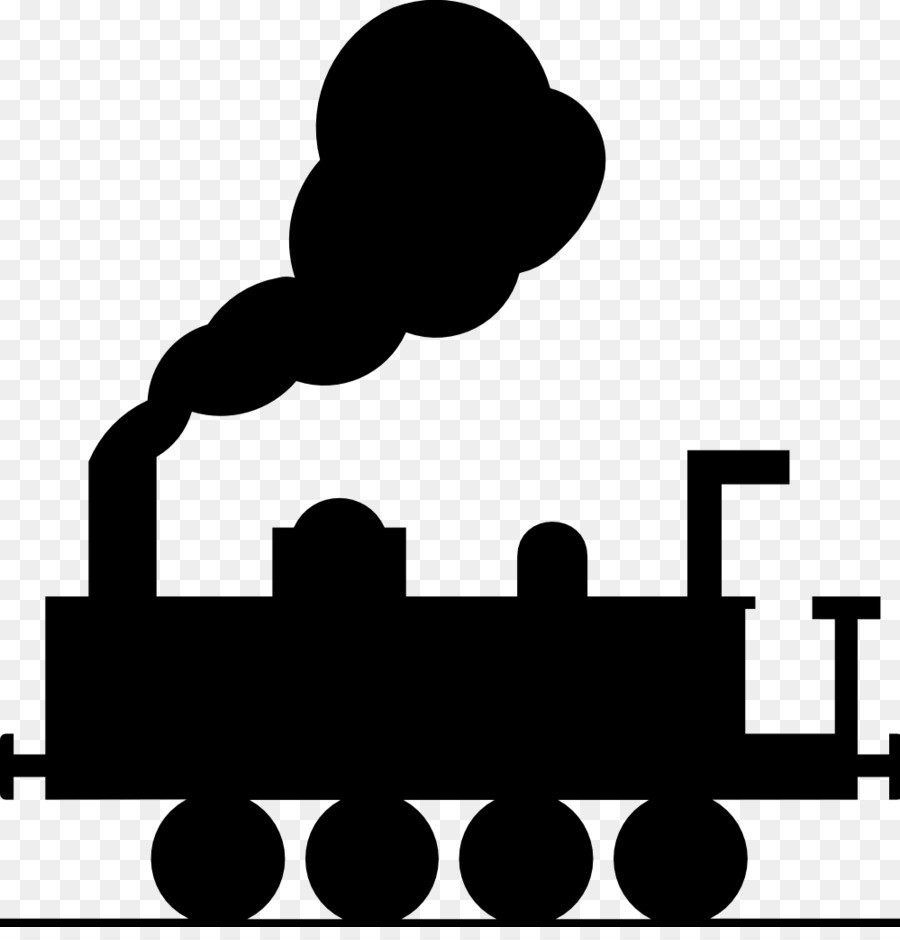 900x940 Train Rail Transport Steam Locomotive Clip Art