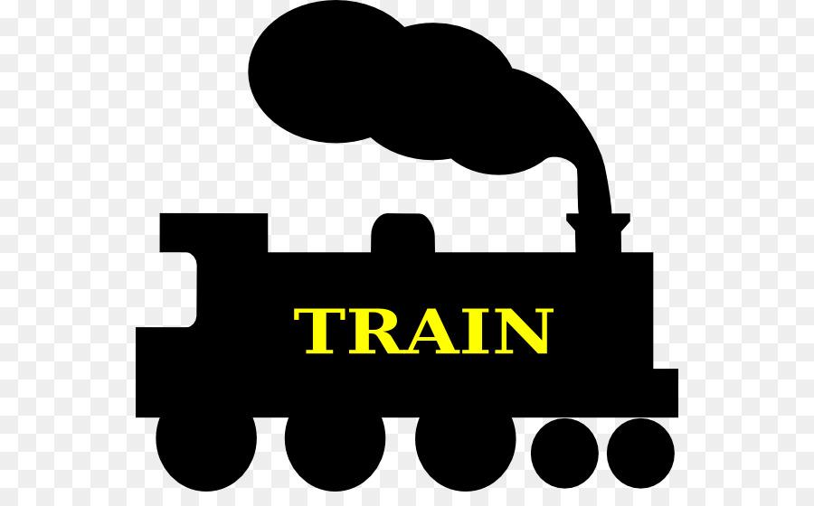 900x560 Train Silhouette Steam Locomotive Track Clip Art