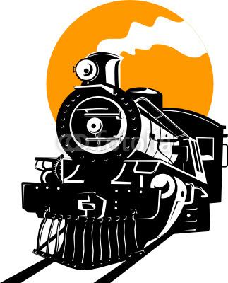 323x400 Vector Steam Train Stencil Cricut, Stenciling