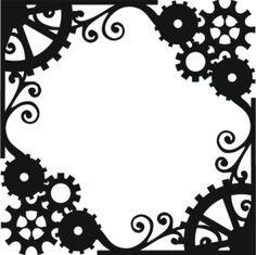 236x235 Papercut Steampunk