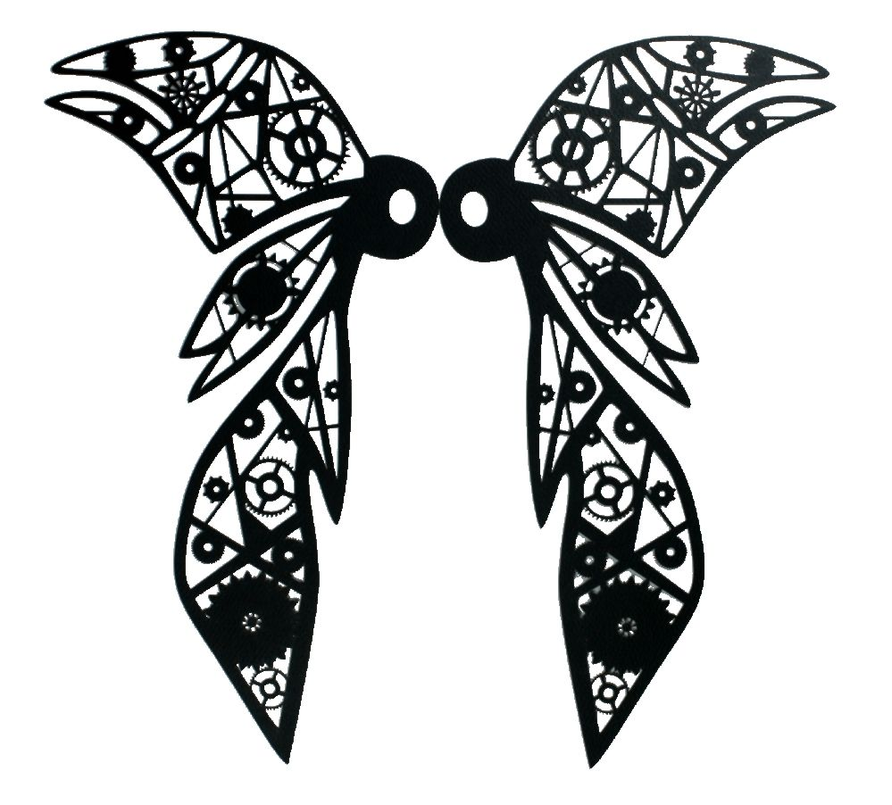 999x902 Wing Silhouette Wings Silhouette Wicked Wings Silhouette By