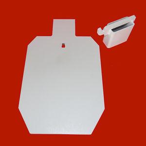 300x300 23 Ipsc Silhouette 38 Ar500 Steel Target Hanger And 2x4 Hook