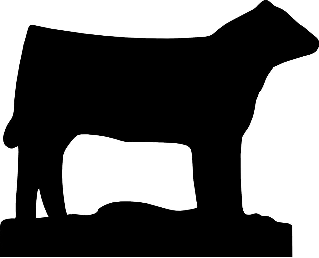 1020x825 Show Steer Silhouette Clip Art N2 Free Image