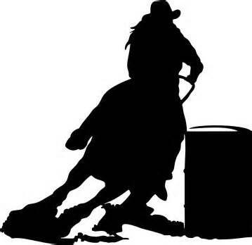 Steer Wrestler Silhouette