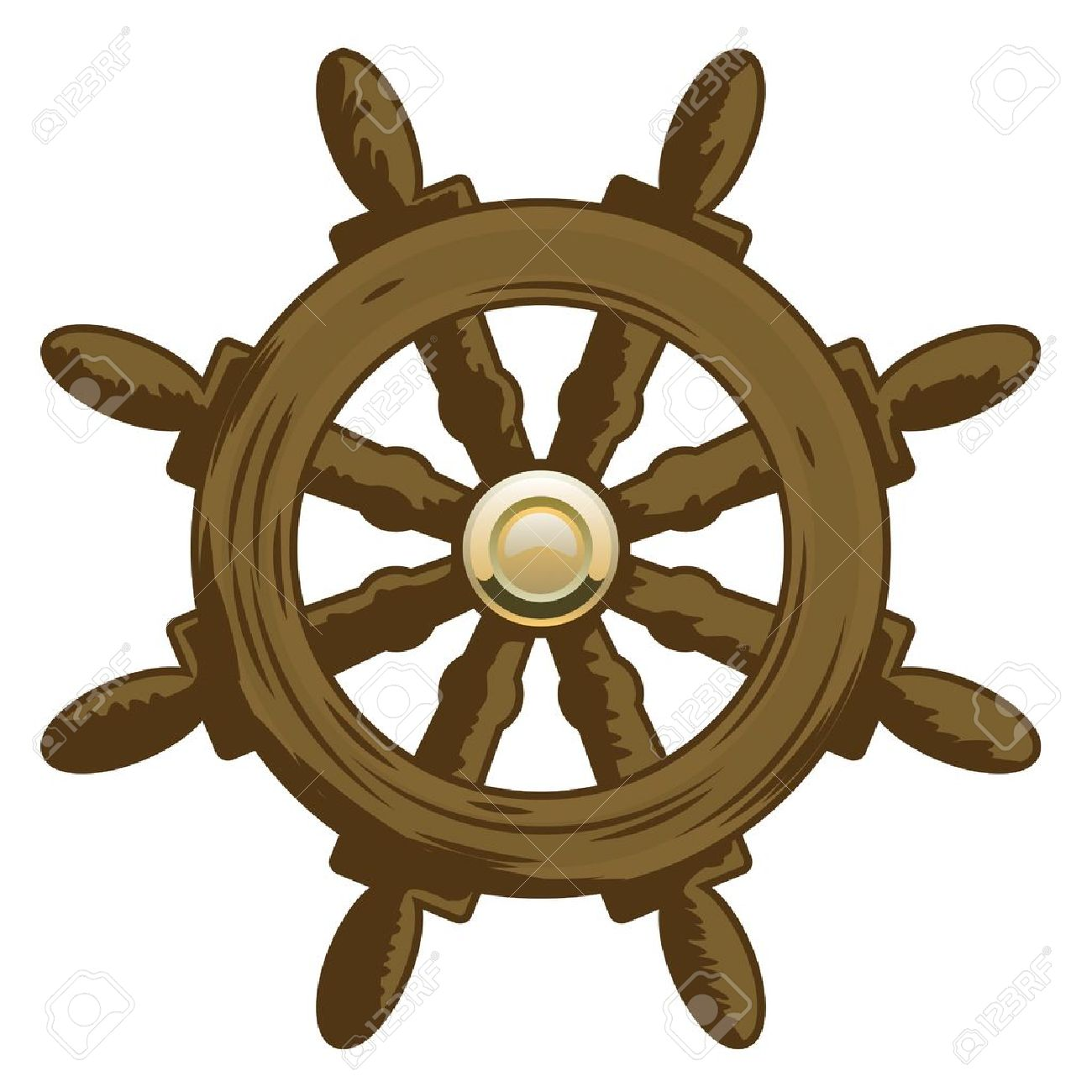 1300x1300 Ship Clipart Ship Steering Wheel
