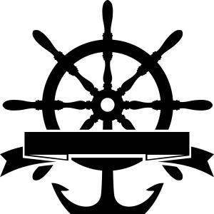300x300 Steering Wheel And Anchor Vector Lazttweet