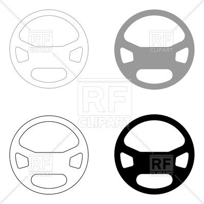 400x400 Steering Wheel
