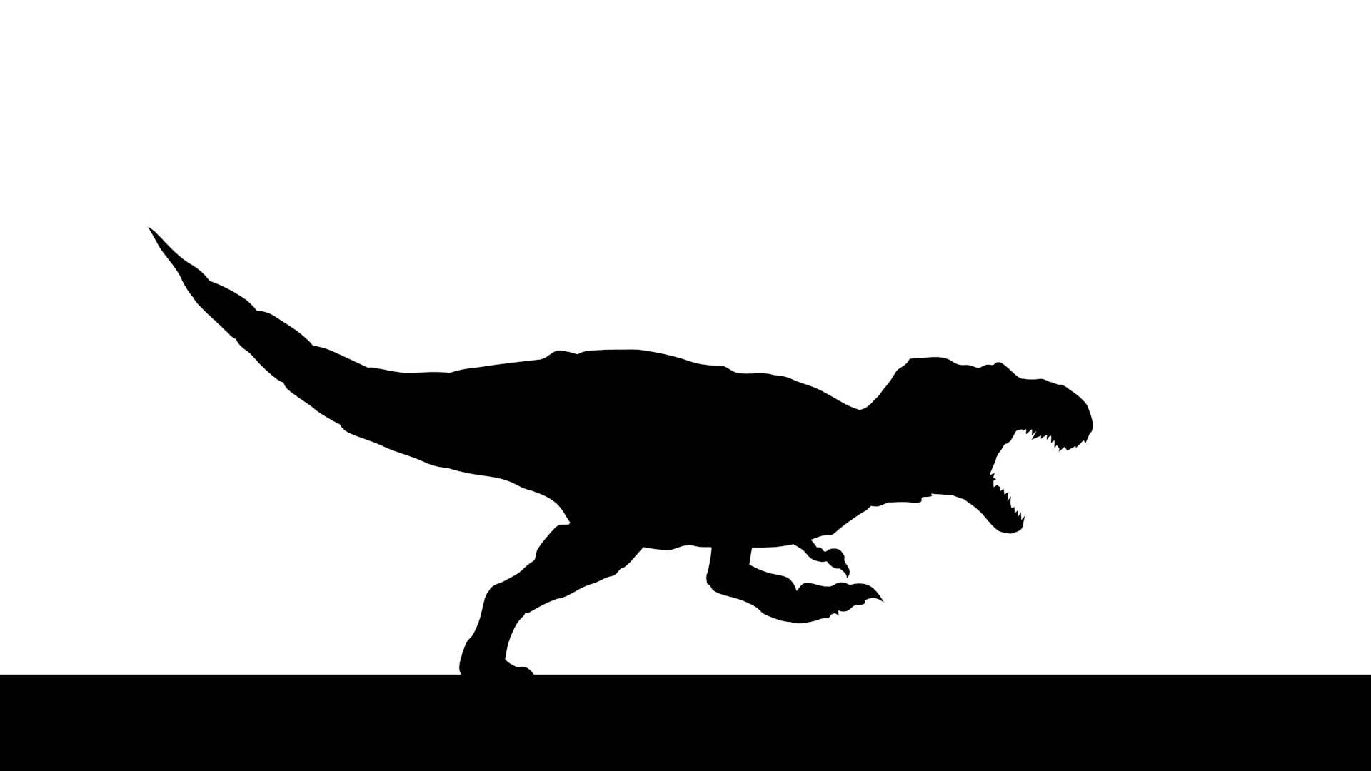 1920x1080 Tyrannosaurus Rex Clipart Silhouette