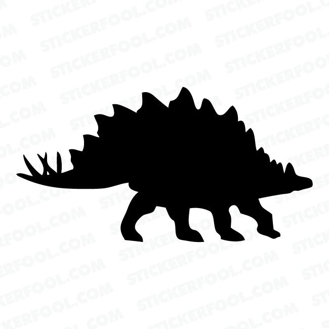 650x650 Stegosaurus Dinosaur Decal Sticker