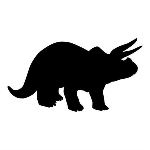 Stegosaurus Skeleton Silhouette