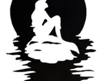 340x270 Silhouette Clipart Little Mermaid Many Interesting Cliparts