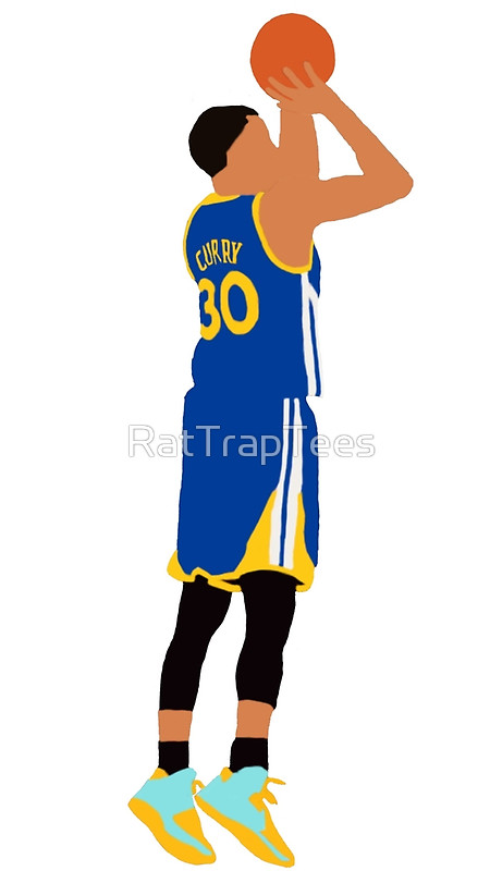 450x800 Stephen Curry Jumpshot Metal Prints By Rattraptees Redbubble