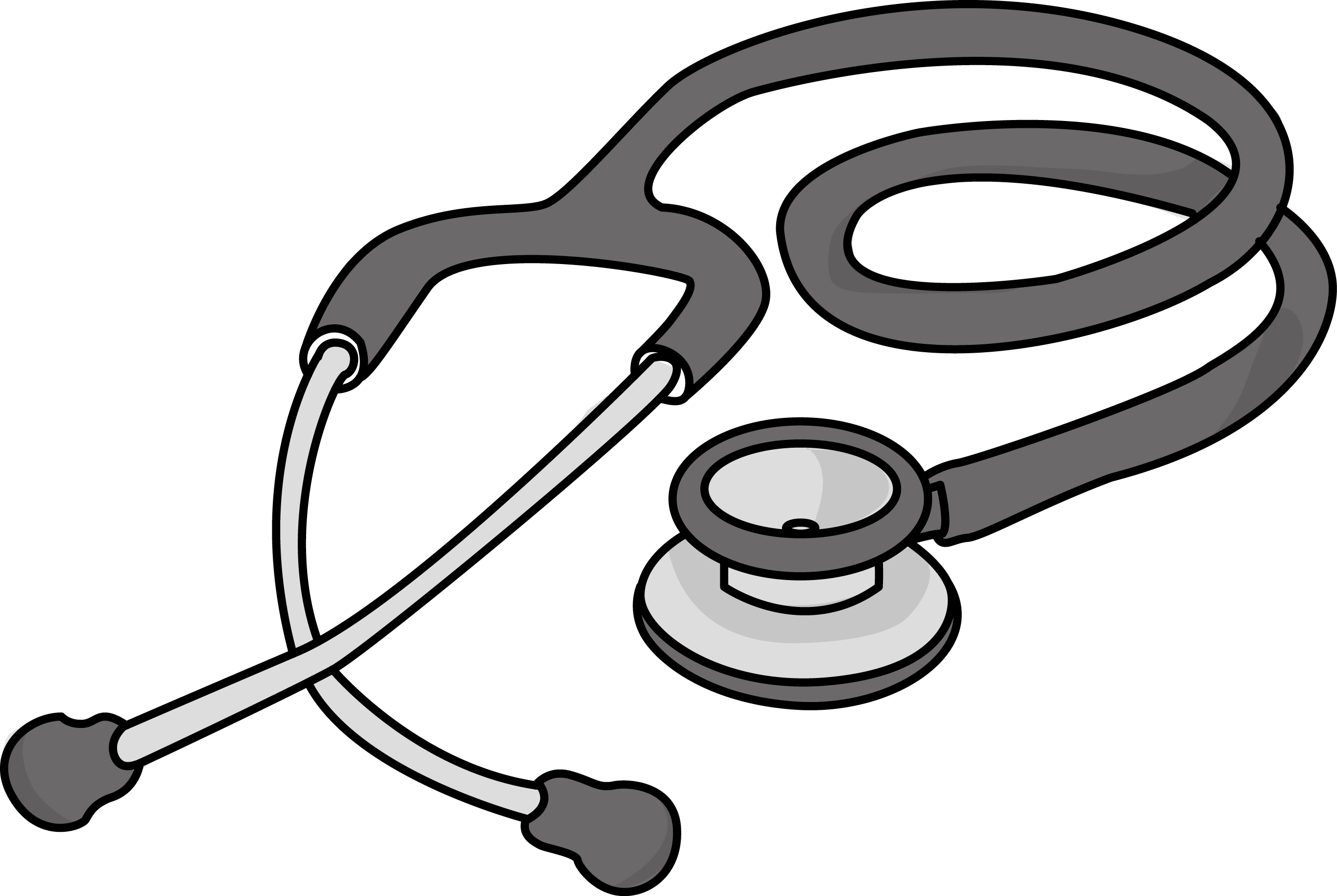 2730x1829 Stethoscope Clipart