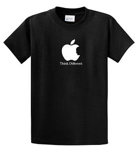 278x300 New Steve Jobs Silhouette Think Different T Shirt Tee,apple Logo