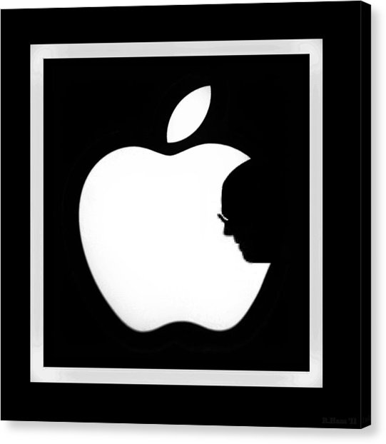 541x622 Apple Steve Jobs Canvas Prints