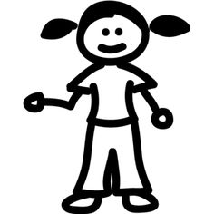 236x236 Stick Figure Dog Traceable Art Stick Figures
