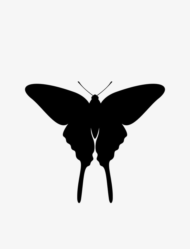 650x848 Butterfly,black And White,stick Figure,paper Cut Silhouettes