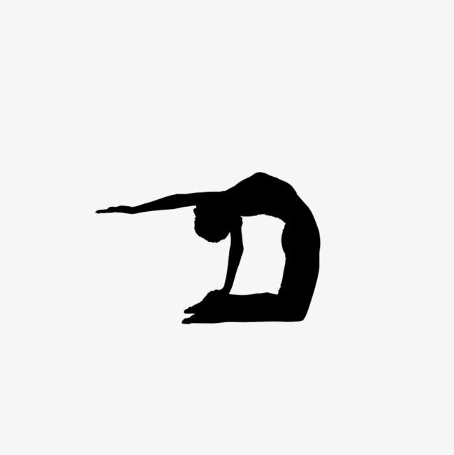 650x651 Yoga Silhouette, Yoga Training, Yoga, Stick Figure Png Image