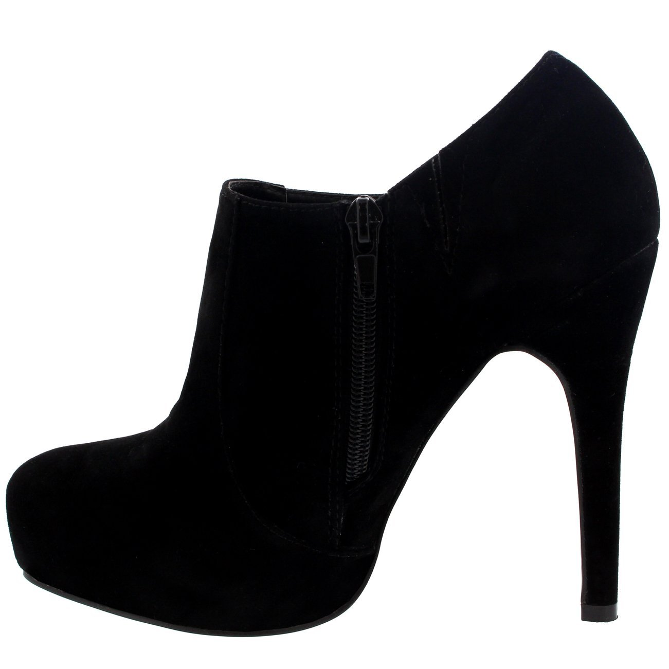 1301x1301 Womens Stiletto Heel Ankle Boot Court Shoes Zipper