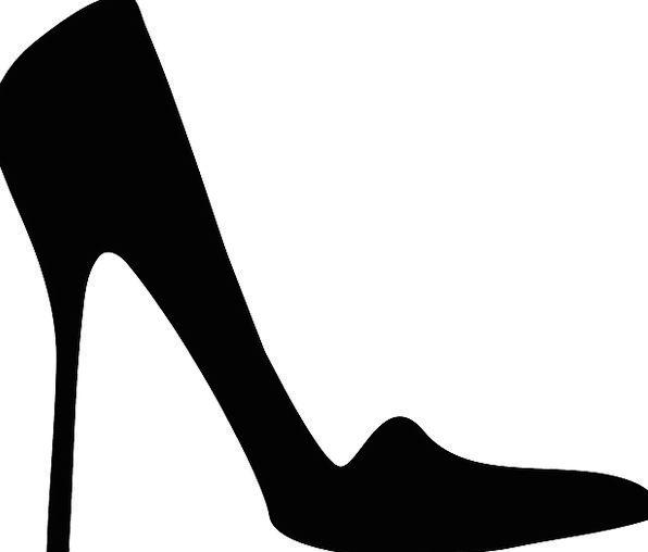 596x508 Stiletto, Blade, Fashion, Drive, Beauty, Shoe, Pump, Style, Black