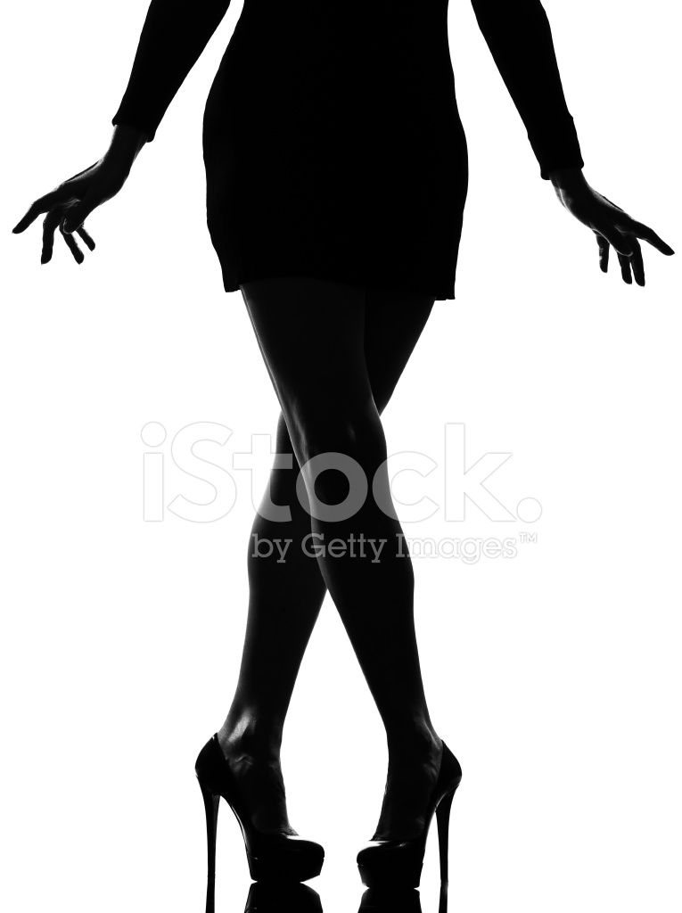 765x1024 Woman Legs Shoes High Heels Silhouette Stock Photos