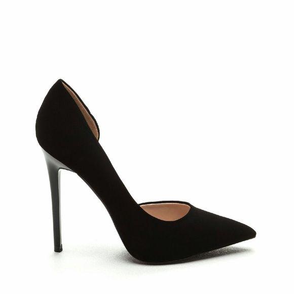 580x580 Black Open Side Pump Boutique Baddies, Stilettos And Shoes Heels