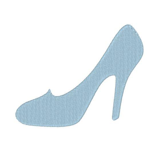 570x523 High Heel Shoe Pump Cinderella Glass Slipper Stiletto