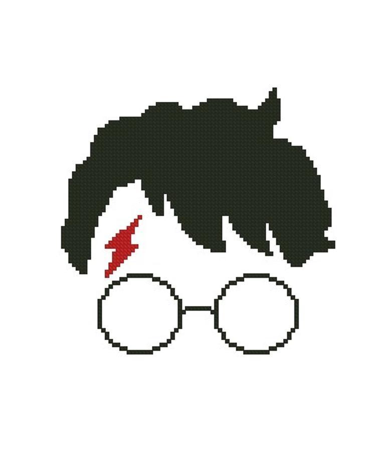 756x901 Free Harry Potter Cross Stitch Pattern