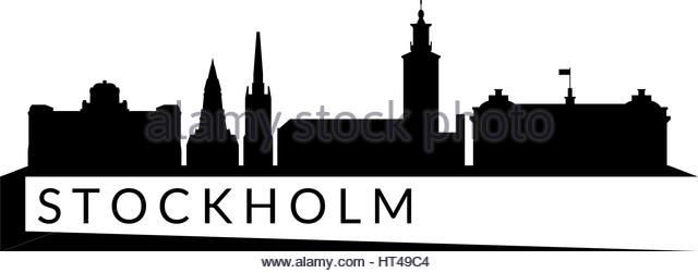 640x251 Stockholm Skyline Black And White Stock Photos Amp Images