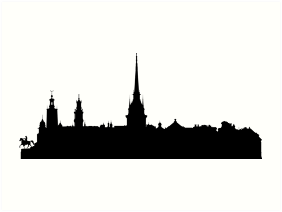 549x413 Stockholm Skyline Art Prints By Maximgertsen Redbubble