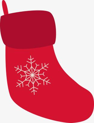 311x409 Christmas Silhouette Material, Christmas Socks, Christmas