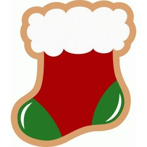 300x300 Silhouette Design Store Christmas Stocking Cookie Christmas