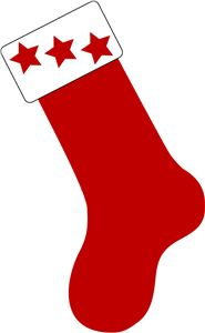 185x300 Silhouette Online Store Christmas Stocking 2 Christmas