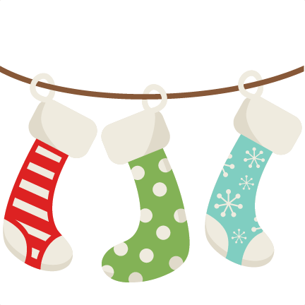 432x432 Christmas Stockings Svg Scrapbook Cut File Cute Clipart Files