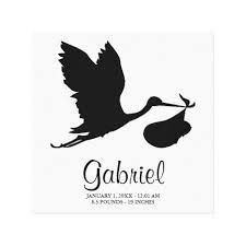 225x225 Image Result For Stork Baby Silhouette Vector Home
