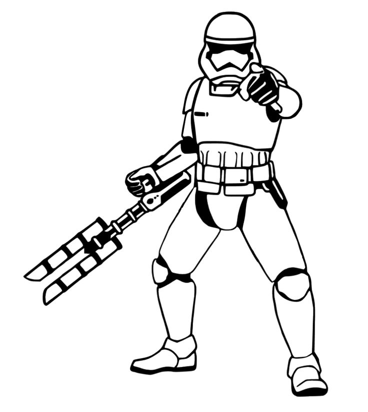 Stormtrooper Silhouette