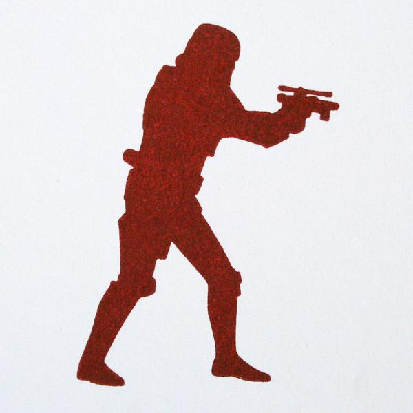 600x600 Star Wars Stormtrooper Letterpress Card Green Bird Press