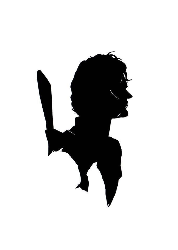 685x960 The Artful Pop Culture Silhouette Series Shortlist