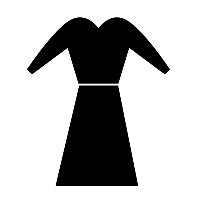 640x640 Clothing Dress Free Icon Clip Art Material
