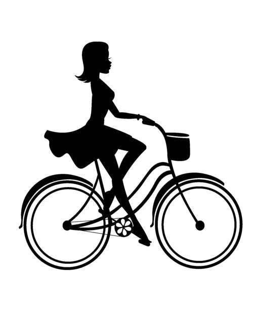 Street Bike Silhouette
