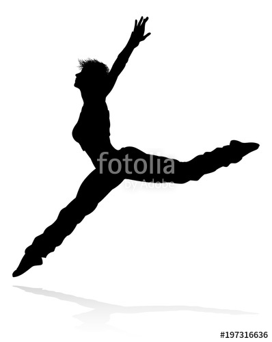 398x500 Street Dance Dancer Silhouette Stock Image And Royalty Free