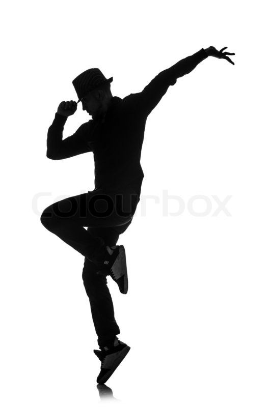 530x800 Get This Hi Res Stock Photo Silhouette Of Male Dancer Isolated