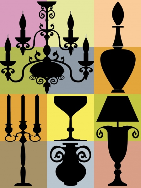 449x600 Street Lamp Silhouette Free Vector Download (6,704 Free Vector