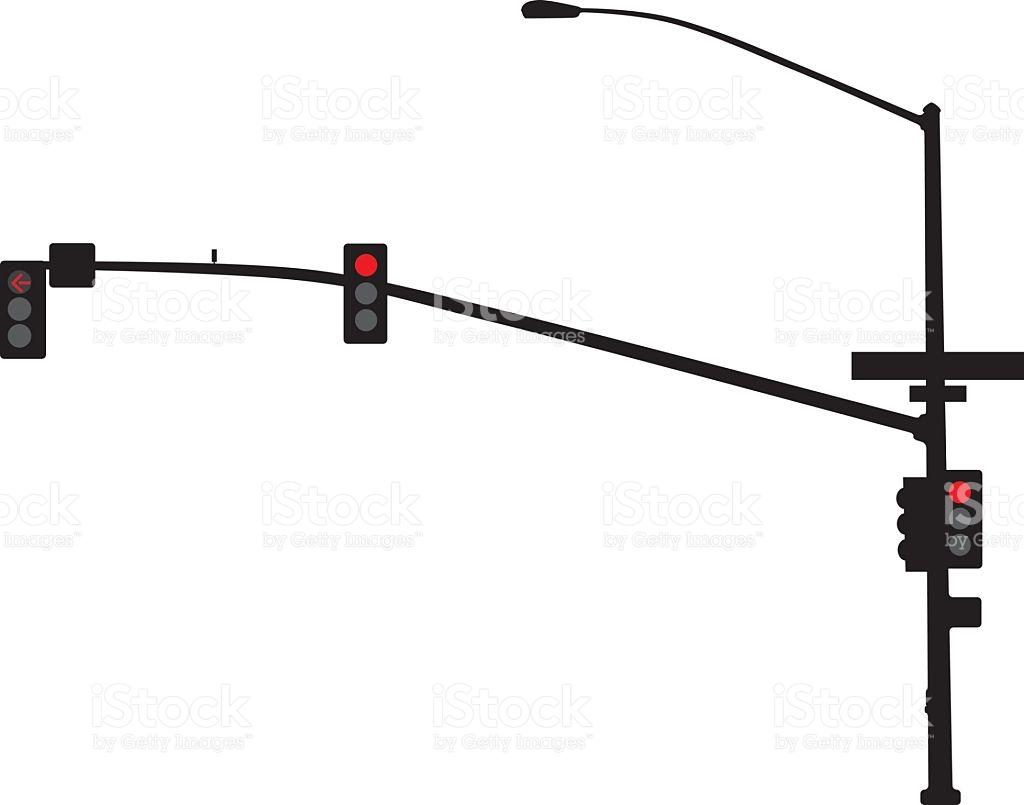 1024x805 Street Light Clipart Silhouette