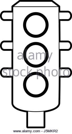 254x470 Street Lamp Icon Image Sketch Style Vector Illustration Design