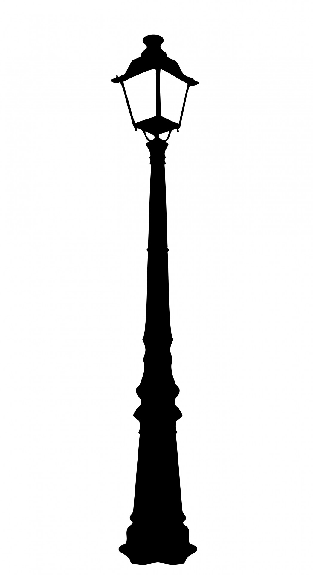 1047x1920 Vintage Street Lamp Clipart Free Stock Photo