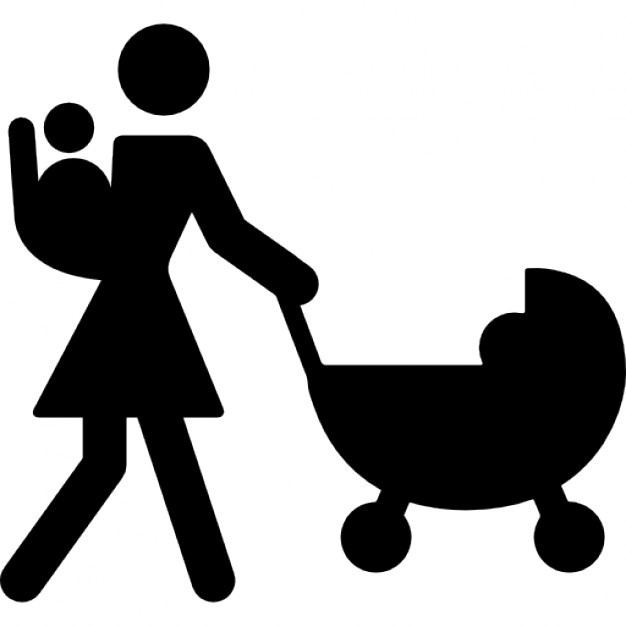 626x626 Stroller Silhouette Vectors, Photos And Psd Files Free Download