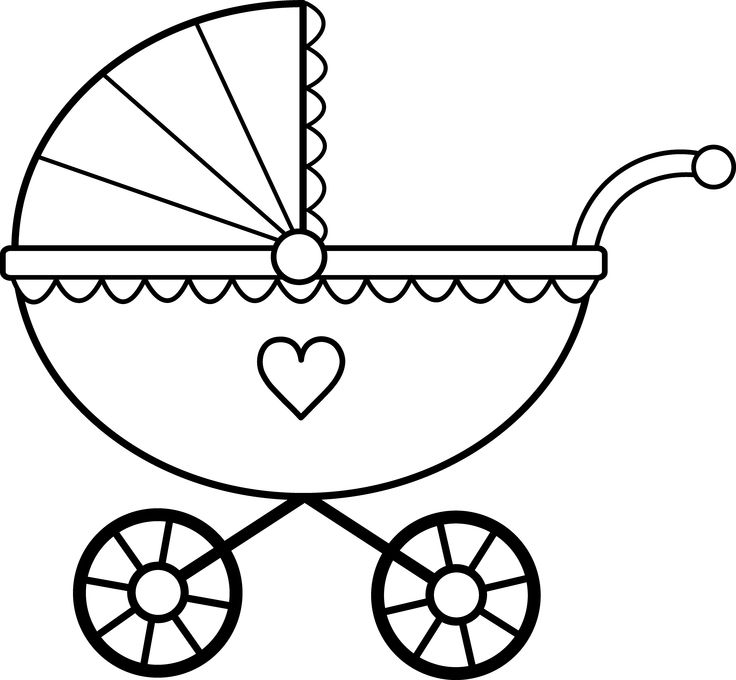 Stroller Silhouette at GetDrawings.com | Free for personal use ...