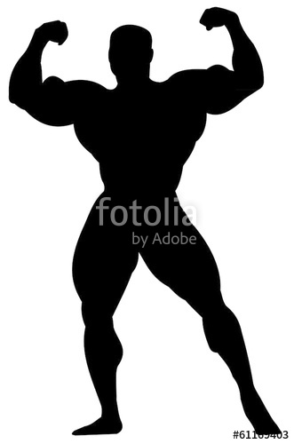 331x500 Bodybuilder Silhouette Stock Image And Royalty Free Vector Files
